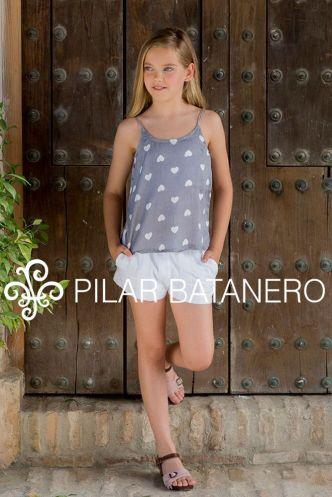 BLUSA TIRANTES CORAZONES DE PILAR BATANERO EN LAS ESTRELLAS DE CARMEN MODA INFANTIL - copia - copia - copia