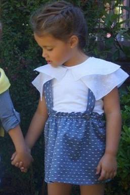 falda-plumeti-con-tirantes-de-ancar en las estrellas de carmen tienda on line de moda infantil outlet